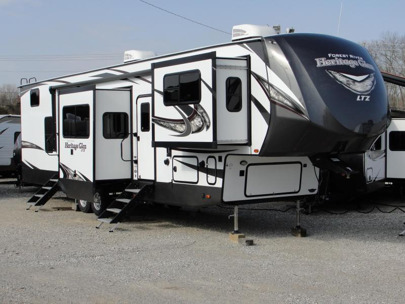 2019 Heritage Glen WBF378FL Travel Trailer