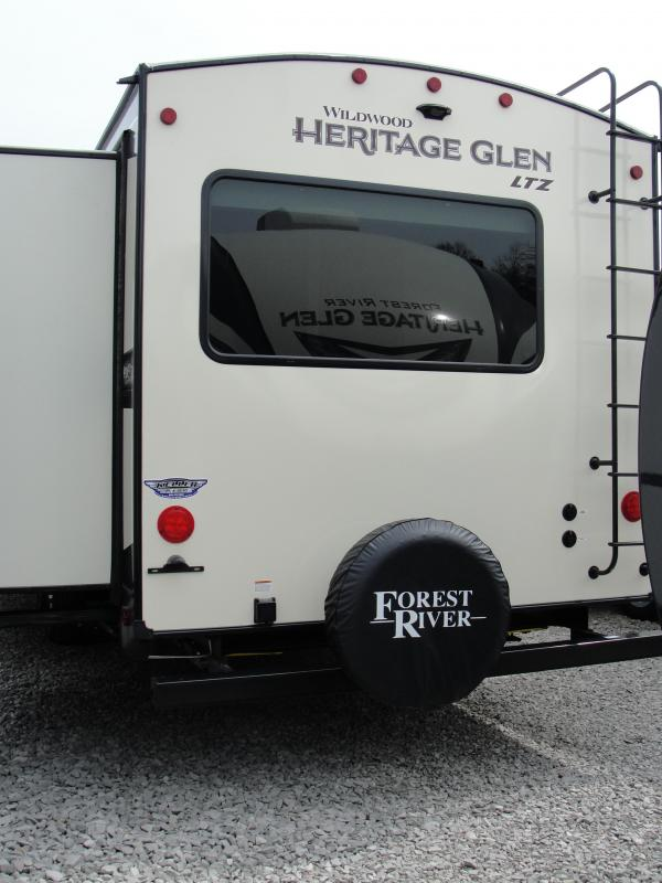 2020 Forest River Heritage Glen 322BH Travel Trailer