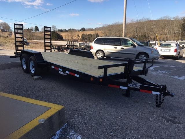 2019 Anderson Manufacturing EQ7206T Equipment Trailer