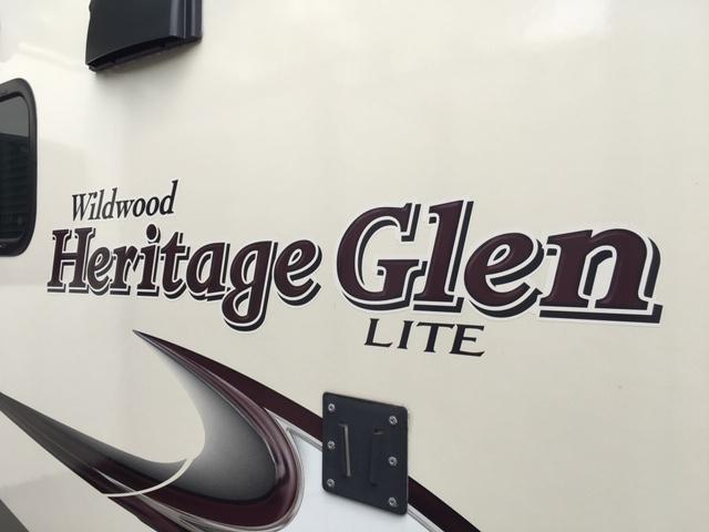 2017 Heritage Glen 299RE Travel Trailer