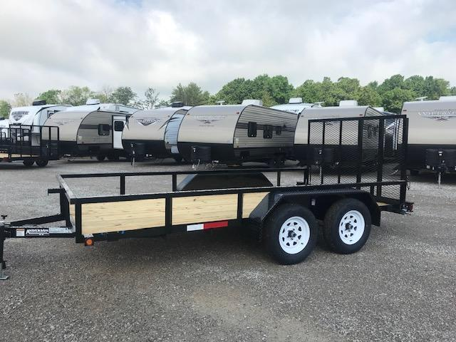 2019 Anderson Manufacturing LST714 Utility Trailer