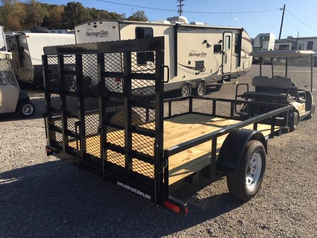 2019 Anderson Manufacturing LS610 Utility Trailer