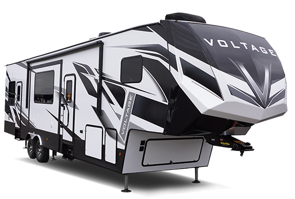 2020 Dutchmen Manufacturing Voltage 3571 Toy Hauler RV
