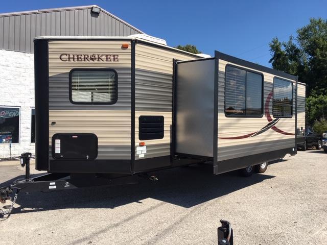 2016 Cherokee Trailers Forest River 274VFK Travel Trailer RV