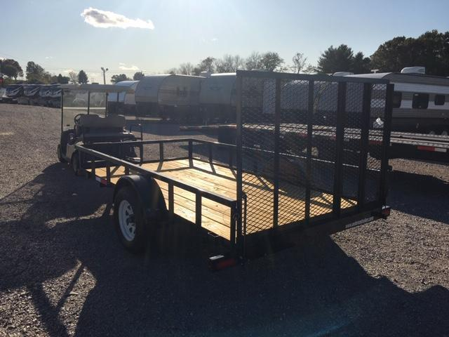 2019 Anderson Manufacturing LS612 Utility Trailer