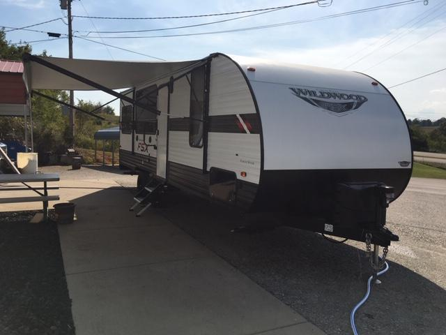 2020 Wildwood FSX 260RT Toy Hauler Travel Trailer