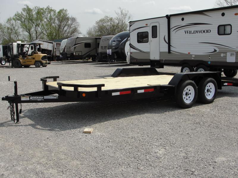 2019 Anderson Manufacturing WC 7X18 Car / Racing Trailer