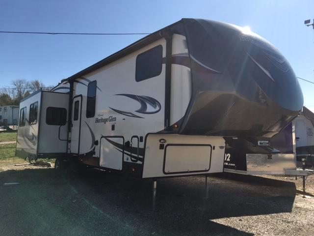 2017 Forest River Inc. Heritage Glen 346RK Fifth Wheel Campers RV