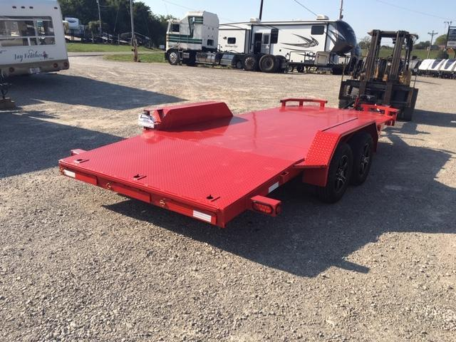 2019 Anderson Manufacturing CF718 Car / Racing Trailer