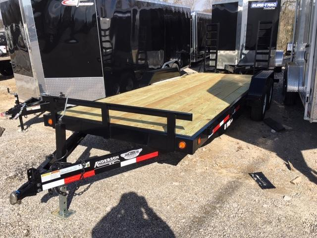 2019 Anderson Manufacturing EQ7205T Equipment Trailer
