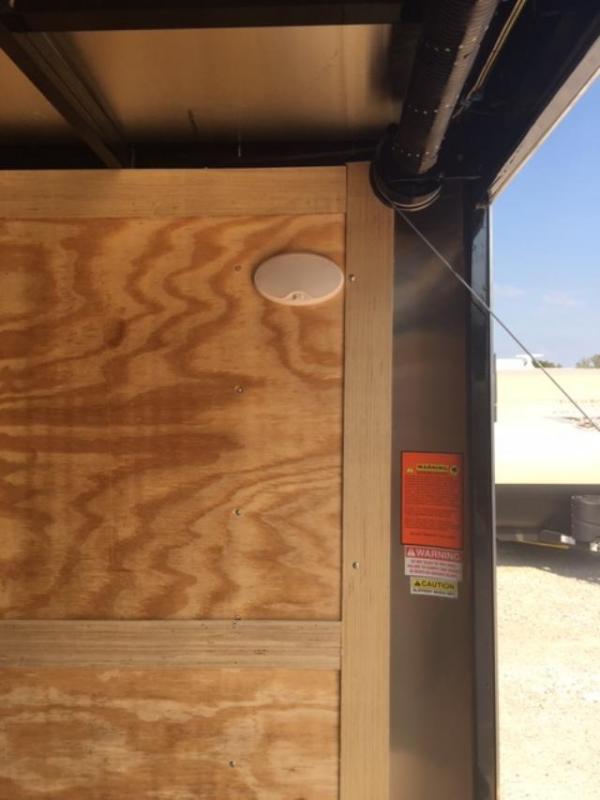 2020 Homesteader Inc. 820IT Enclosed Cargo Trailer