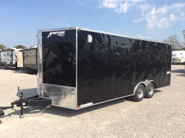 2020 Homesteader Inc. 820IT Enclosed Cargo Trailer