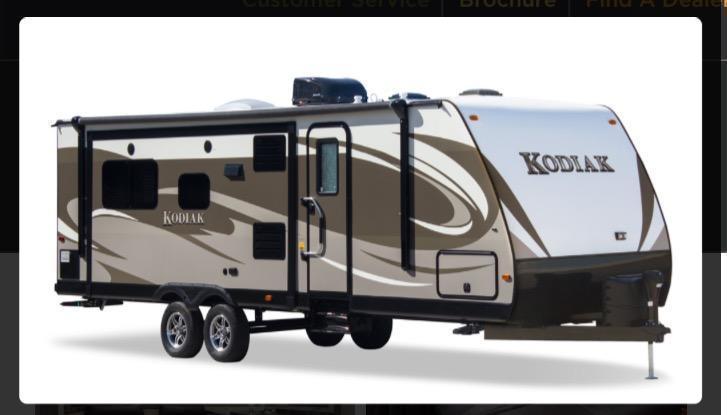 2016 Kodiak 295TBHS Travel Trailer
