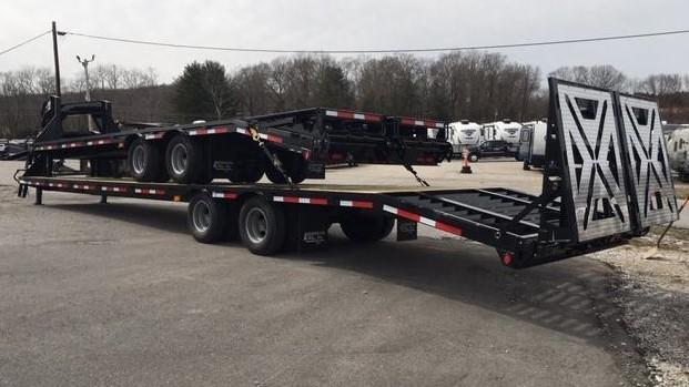 2019 Anderson Manufacturing 84010TW Equipment Trailer