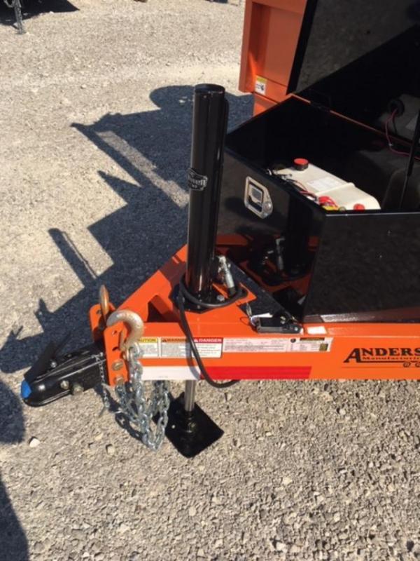 2019 Anderson Manufacturing D7126TLP Dump Trailer