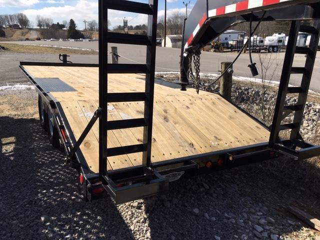 2018 Anderson Manufacturing EQ8207TL Equipment Trailer
