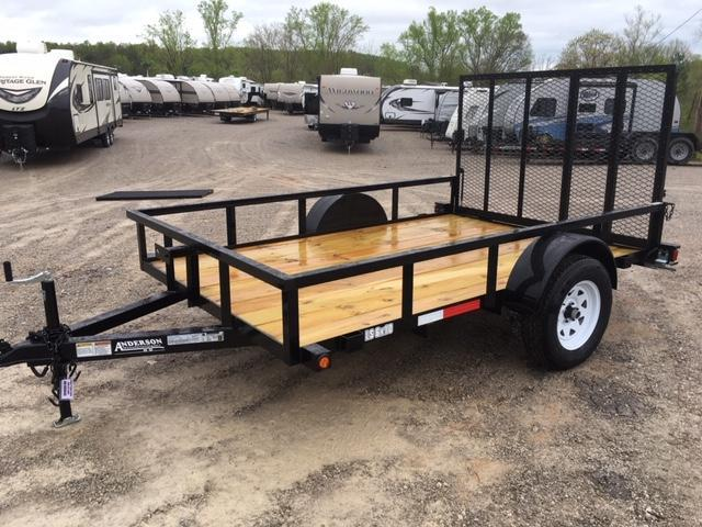 2019 Anderson Manufacturing LS 6X10 Utility Trailer