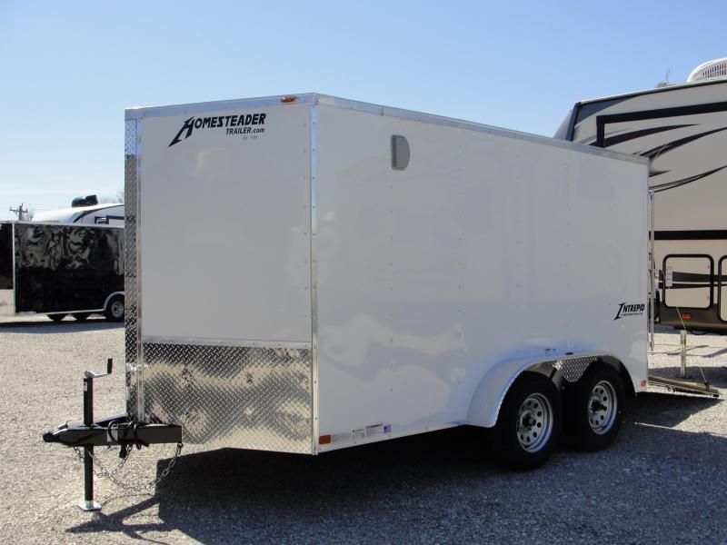 2019 Homesteader Inc. 712TA Enclosed Cargo Trailer