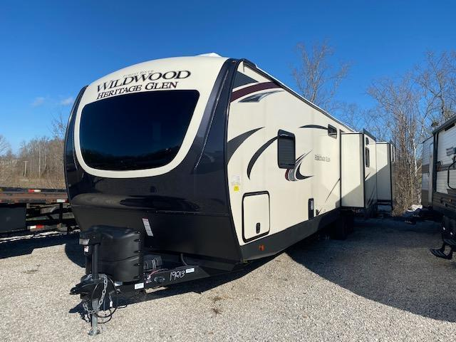 2020 Forest River Inc. Wildwood Heritage Glen 310BHI Travel Trailer RV