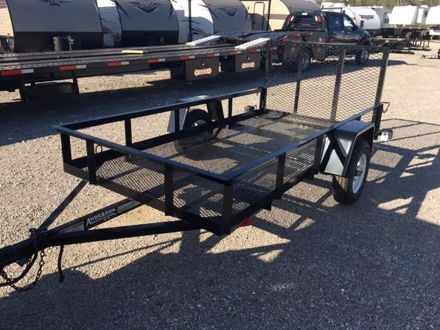 2019 Anderson Manufacturing EC510LS Utility Trailer
