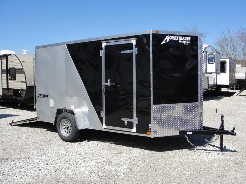 2019 Homesteader Inc. 612SA Enclosed Cargo Trailer