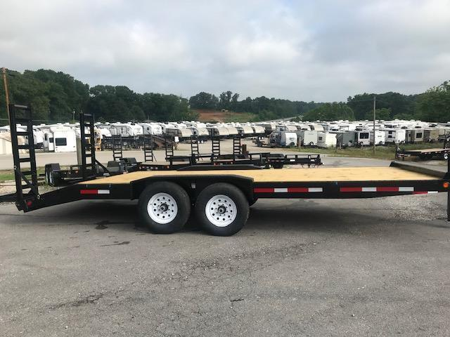 2019 Anderson Manufacturing EQ8207T Equipment Trailer