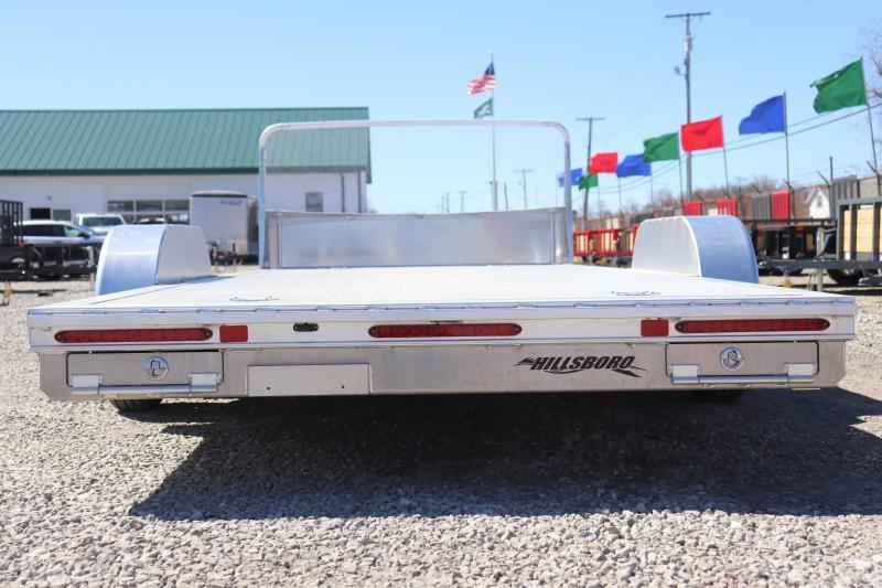 "2020 Hillsboro Industries 82""x20 Aluminum Car Hauler Car / Racing Trailer"