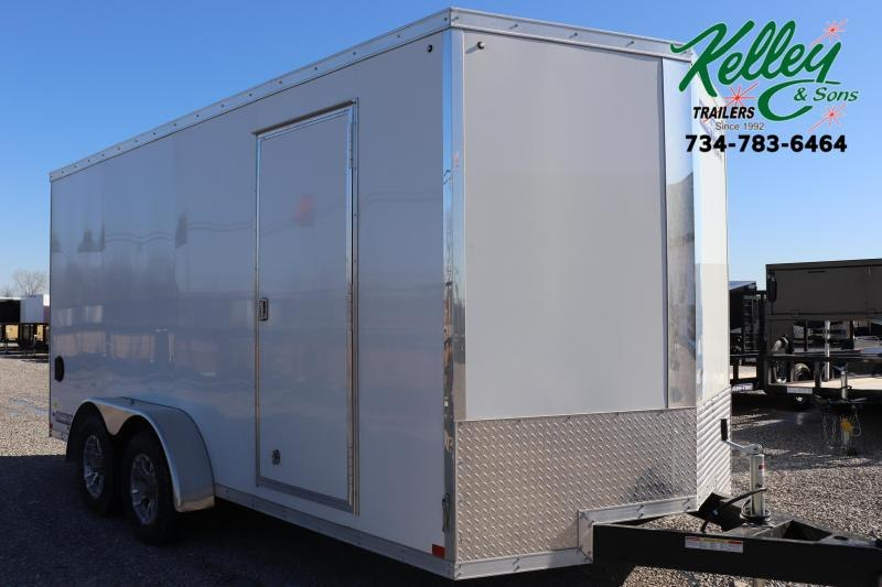 2020 Sure-Trac 7x16 7K Pro Series Wedge Enclosed Cargo Trailer