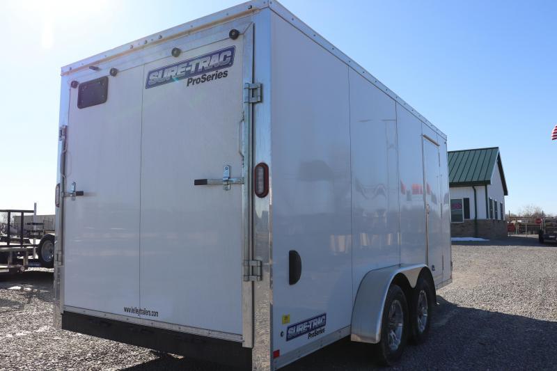 2020 Sure-Trac 7x16 7K Pro Series Wedge Enclosed Cargo Trailer