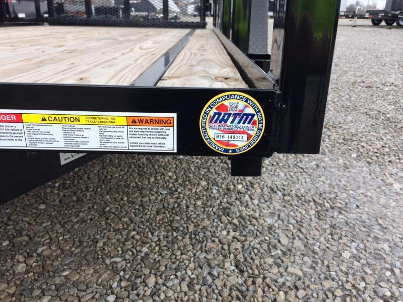 2020 Sure-Trac 5x10 Tube Top Utility Trailer