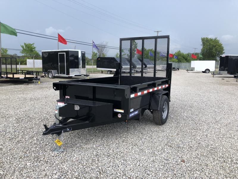 "2020 Sure-Trac 62""x8 5K Single Ram Dump Trailer w/ Ramp"