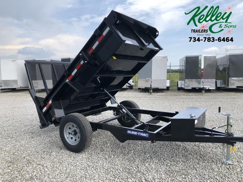 "2020 Sure-Trac 62""x8 5K Dump Trailer w/ Ramp"