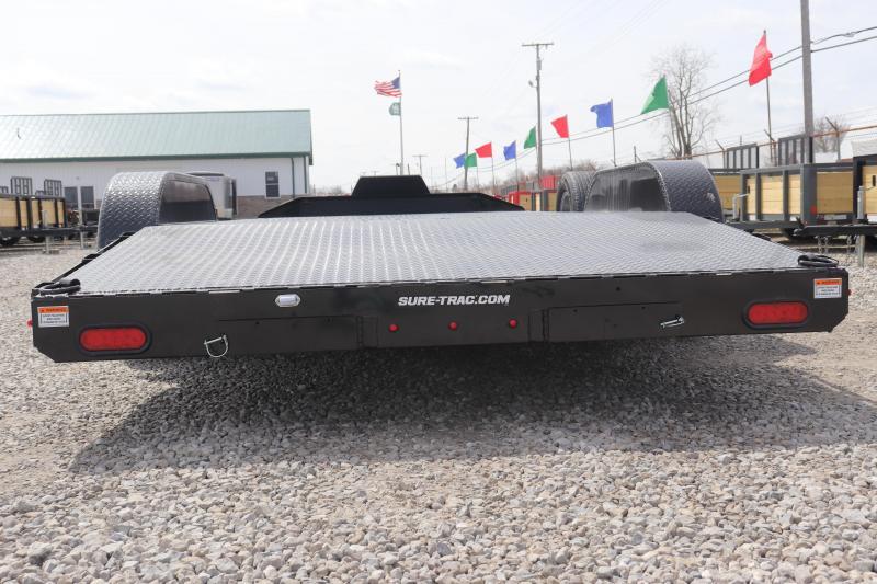 2020 Sure-Trac 7x18 7K Steel Deck Car Hauler Trailer