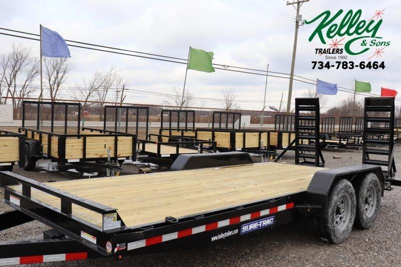 2020 Sure-Trac 7x18 14K Equipment Trailer