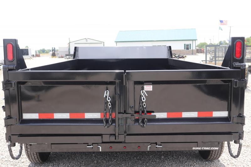 "2020 Sure-Trac 82""x12 12K Scissor Dump Trailer"