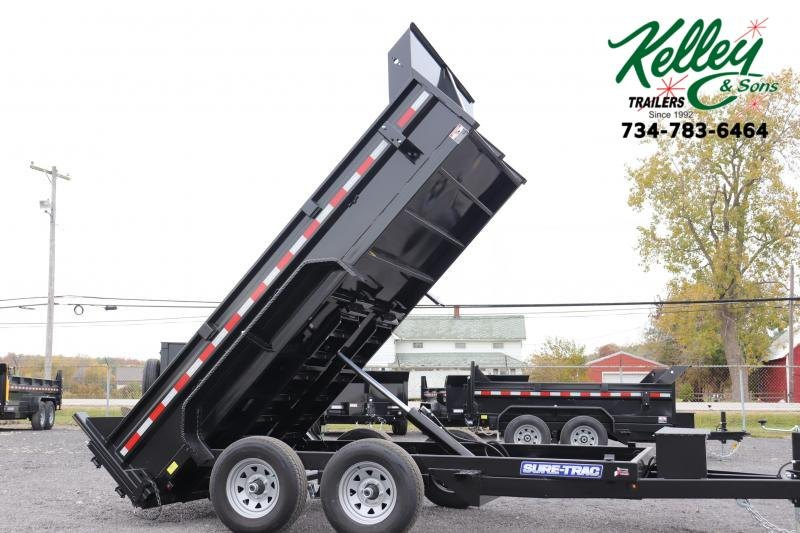 2020 Sure-Trac 72INx12 10K Single Ram Dump Trailer