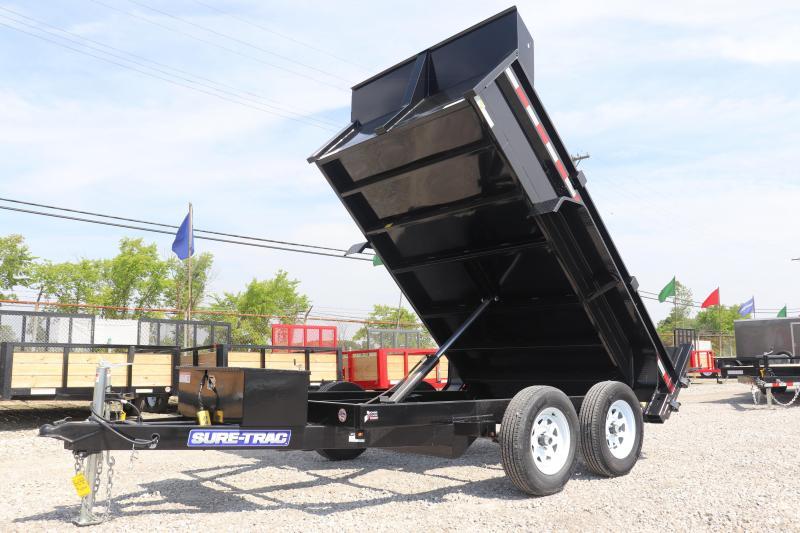 "2020 Sure-Trac 72""x10 10K Single Ram Dump Trailer"