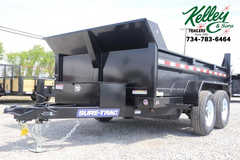 "2020 Sure-Trac 72""x10 10K Single Ram Dump Trailer"