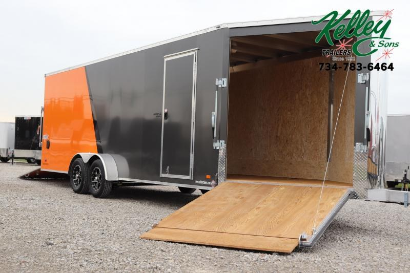 2020 Bravo Trailers 7x22 7K Star Aluminum Enclosed Snowmobile Trailer