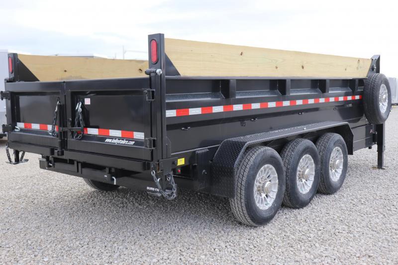 2020 Sure-Trac 82INx16 21K Low Pro Scissor Pro Gooseneck Dump Trailer