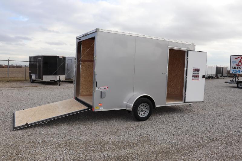 2019 Bravo Trailers 6x12 Scout w/ Ramp Door Enclosed Cargo Trailer
