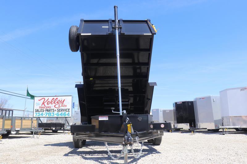 "2020 Sure-Trac 82""x14' 14K Low Pro Telescopic PRO Dump Trailer"