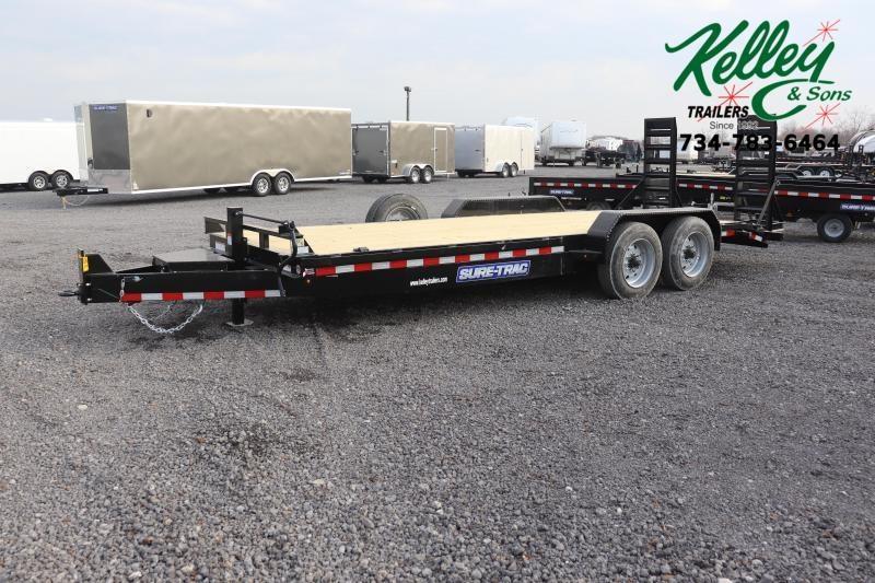 2020 Sure-Trac 7x20 16K Implement Equipment Trailer