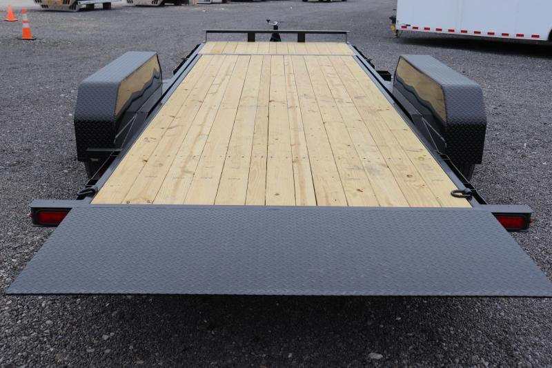 2020 Sure-Trac 7x18+4 14K Tilt Bed Equipment Trailer
