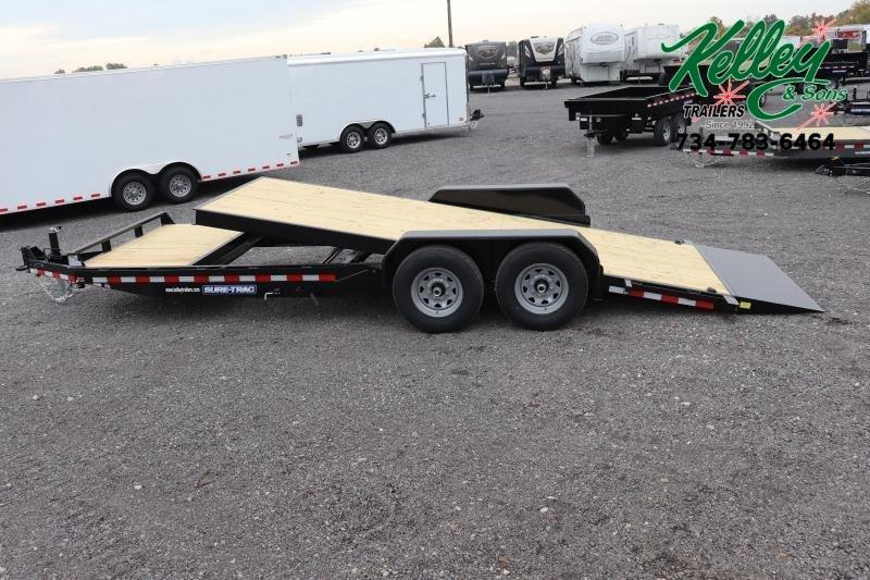 2020 Sure-Trac 7x18+4 14K Tilt Bed Equipment Trailer