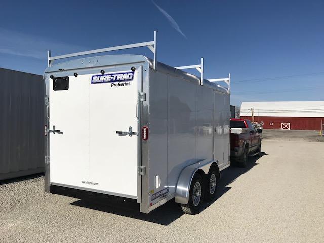 2020 Sure-Trac 7x14 10K Pro Series Round Top Cargo
