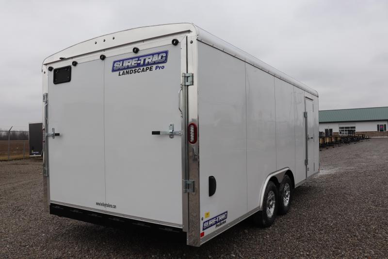 2020 Sure-Trac 8.5x18 10K Landscape Pro RT Enclosed Cargo Trailer
