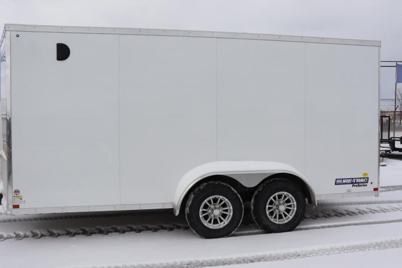 2020 Sure-Trac 7x1610K Pro Series Wedge Enclosed Cargo Trailer