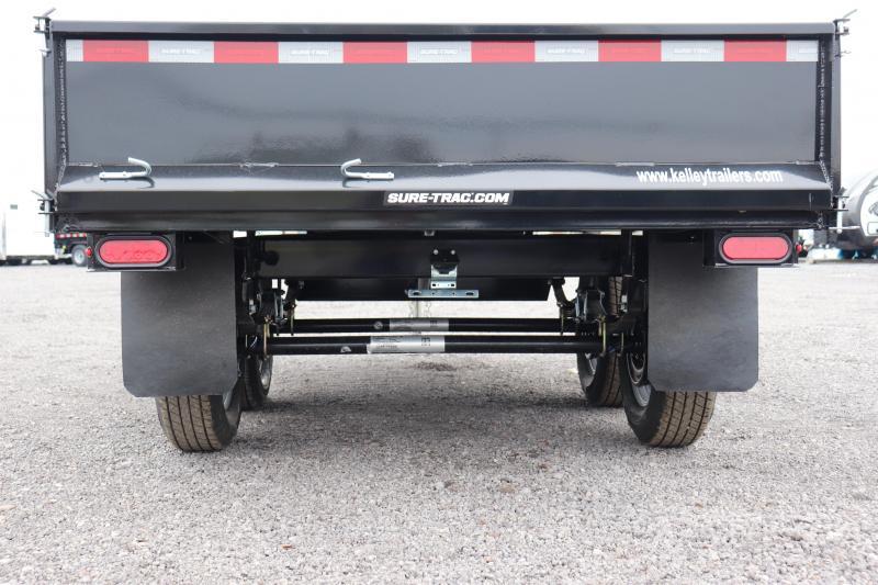"2020 Sure-Trac 72""x10 7K Deckover Single Ram Dump Trailer"