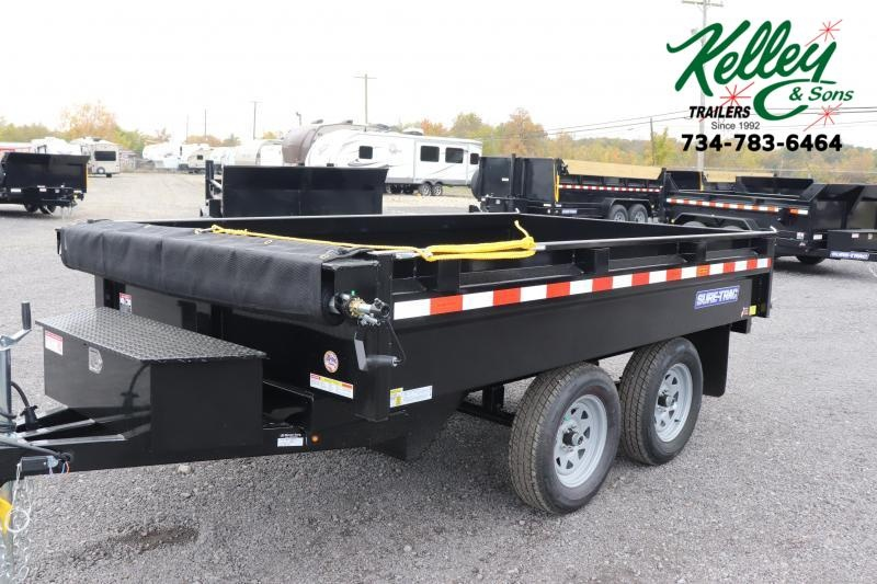 "2020 Sure-Trac 72""x10 7K Deckover Single Ram Dump Trailer"